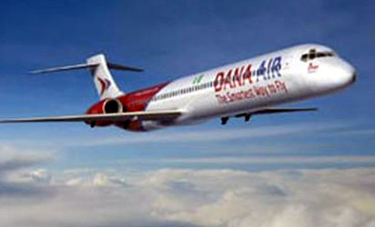 Dana Air Pilots Go On Strike, Passengers Stranded