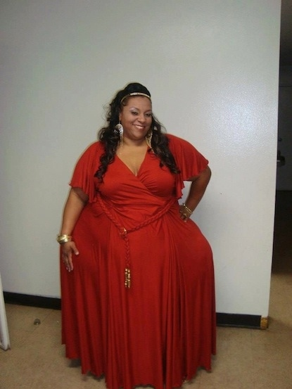 Big woman in the world