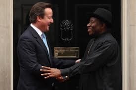 British Prime Minister Writes Jonathan Ahead of Saturday's Elections