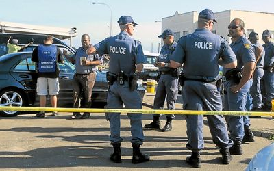 south african police force salary