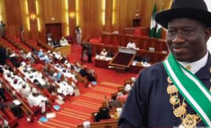 BREAKING: Jonathan Submits Confab Report To Senate