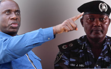 """Amaechi Replies Former Rivers Commisioner Of Police Mbu,Calls Him A""""Shameless Puppet"""""""