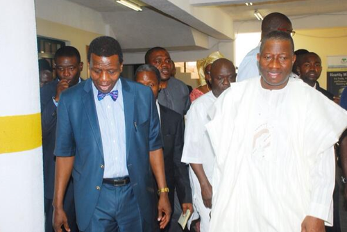Read Jonathan's Message To Adeboye For His 73rd Birthday