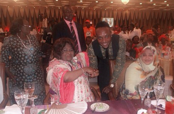 [PHOTOS]Patience Jonathan appoints Limpopo Crooner Kcee as Peace Ambassador