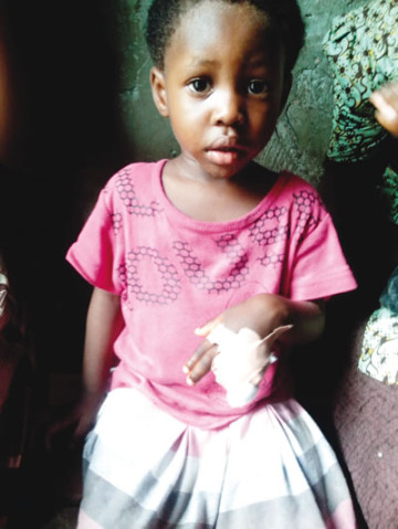 [PHOTO] Pastor Cuts Off 2-Year-Old Girl's Fingers