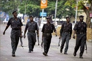 Police Officers Detained For Shooting At A Bus In Lagos