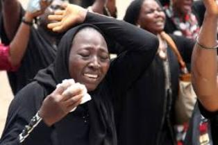 Jonathan finally meets Chibok girls' parents behind closed-doors