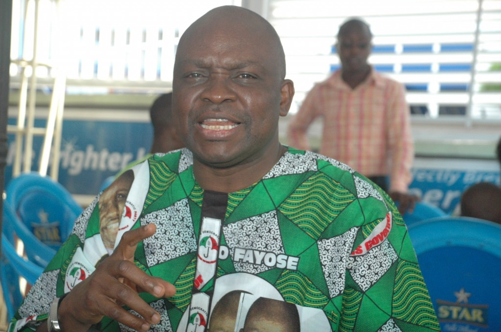 Jonathan Can Sack Jega If He Wants – Fayose