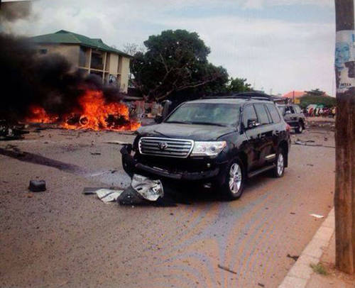 See Photos From Kaduna Bomb Blasts