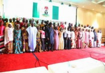 President Jonathan meets chibok parents