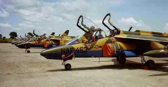 Nigerian Air Force fighter jet declared missing