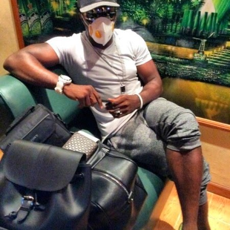 Ebola Virus: Jim Iyke Flees Liberia {PHOTO}