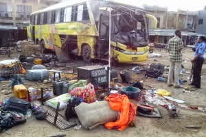 Photos from the Scene of the Kano Bomb Blast