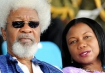 wole soyinka and wife