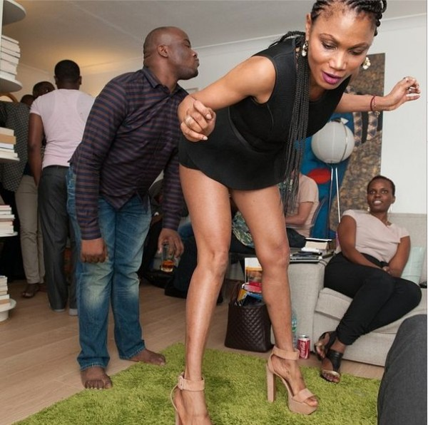 Funmi Iyanda boogies down on her surprise 43rd birthday party In London {See Photos}