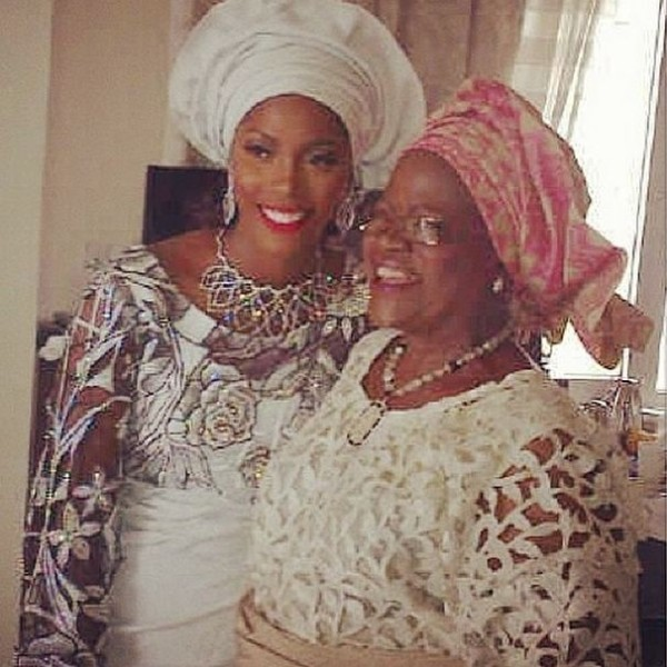Tiwa Savage's Sweet Message To Her Mum On Her Birthday Will Make You Cry A Little