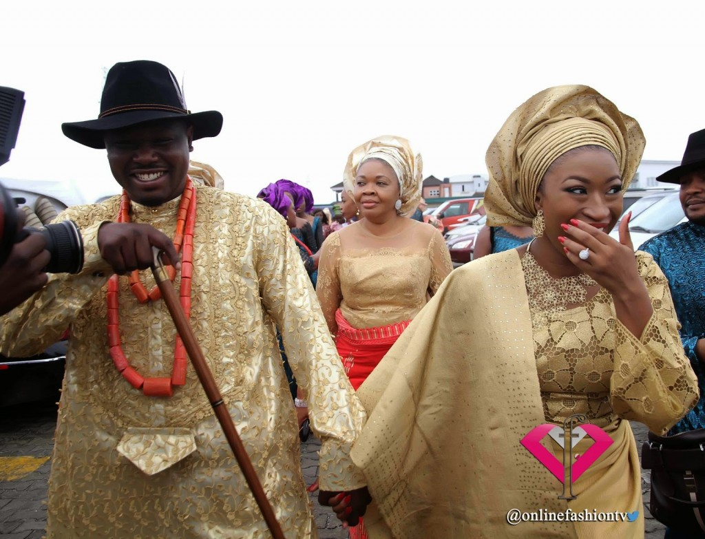 See The Official Photos From Dr Sid and Simi Osomo's Traditional Wedding {LOOK}