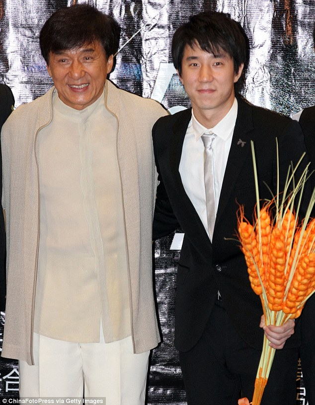 Jackie Chan speaks out about his son's drug arrest