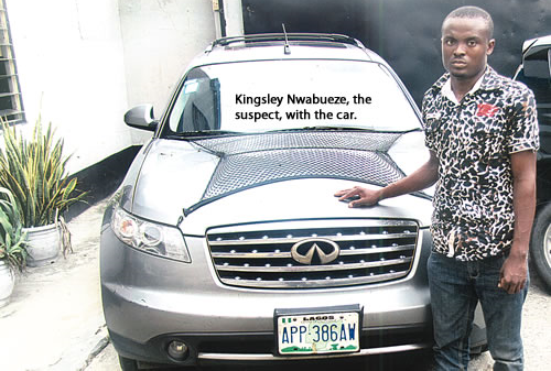 Driver who escaped with his employer's N6.5m vehicle has been arrested {LOOK}