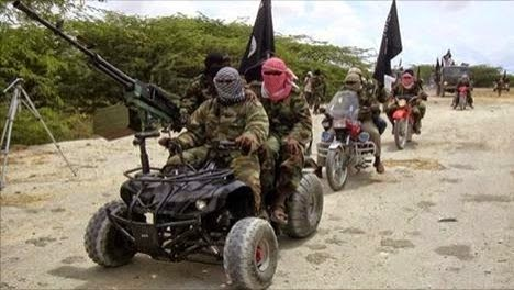 Boko Haram Completely Takes Over Bama, Hoists Flag