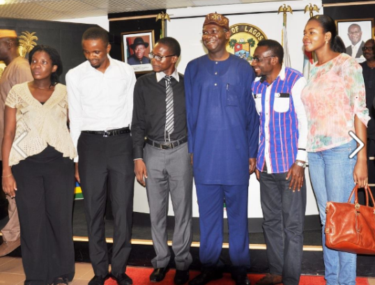 Photos: Governor Fashola hosts five Ebola survivors +read their heartbreaking stories