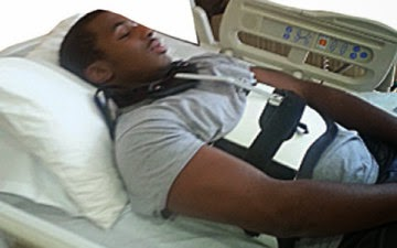 [SAD STORY] How a gunshot shattered my spinal cord and NFL dream – Nigerian student in American University