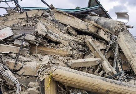 One dies as Church building collapses in Edo
