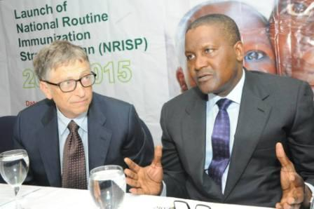 Aliko Dangote Visits Bill Gates Foundation in Seattle, USA [See Photos]