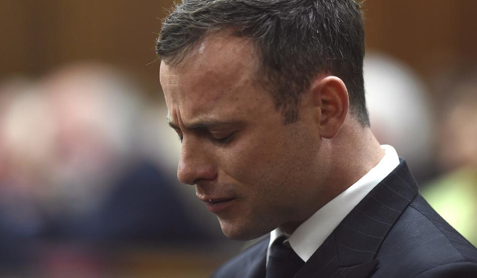 See What Oscar Pistorious Did On His First Night In Prison