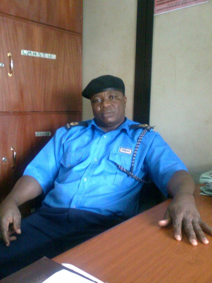 unilag chief security officer