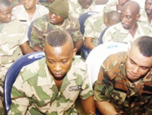 Some-soldiers-facing-trial-at-the-newly-inaugurated-General-Court-Martial-at-the-Abacha-Barracks-in-Abuja...-on-Thursday-360x225