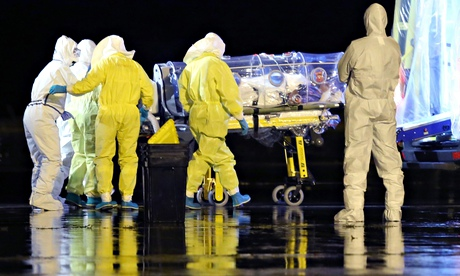 Nigerian drug smuggler left to die at airport after showing Ebola symptoms
