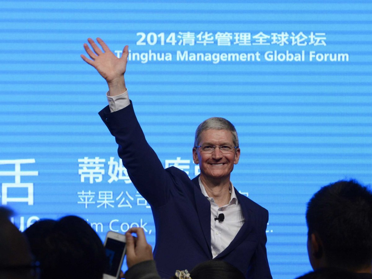 CEO of Apple, Tim Cook announces that he is gay