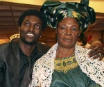 Emmanuel-Adebayor and mother