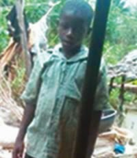 Shocking: 10 year old boy thrown into river by aunt over witchcraft allegations