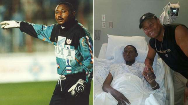 Former Super Eagles keeper, Wilfred Agbonavbare dies after battle with cancer