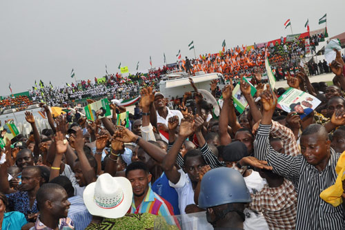 [REVEALED] How Political Parties Pay People To Attend Campaign Rallies