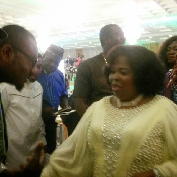 [PHOTOS] Patience Jonathan Entertains Top Nollywood Stars In Abuja