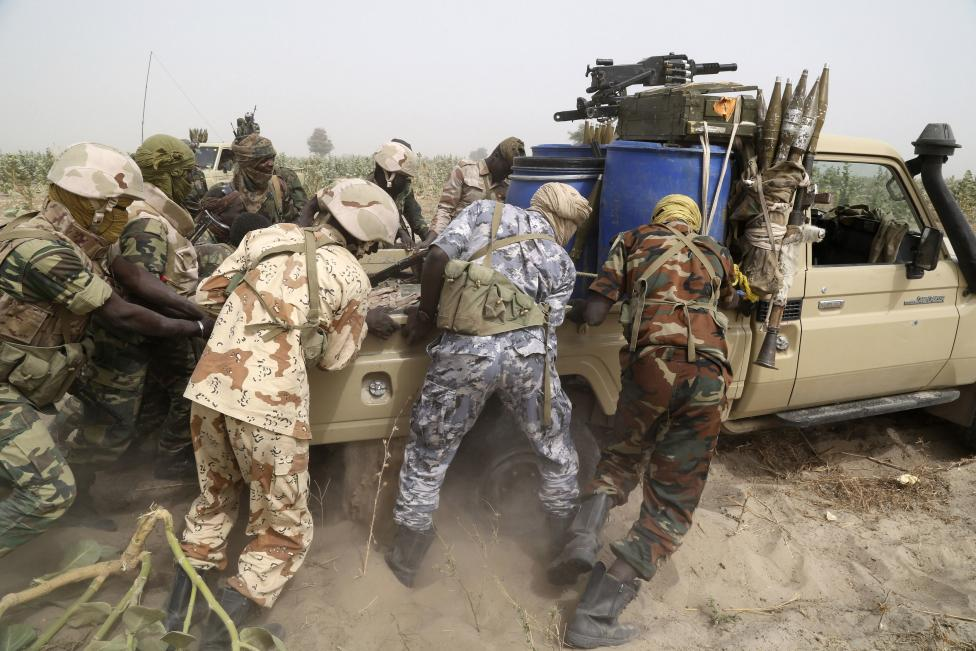 "Photos Of How Chad Army Captured Notorious Boko Haram Leader ""The Butcher"""