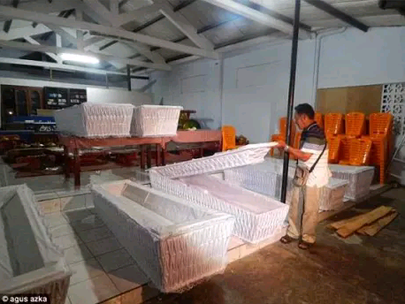 See Photos Of The Coffins Where 4 Nigerians To Be Executed In Indonesia