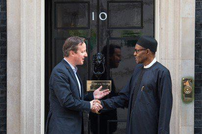 [PHOTOS] Buhari Meets David Cameron In London. Here's What They Discussed