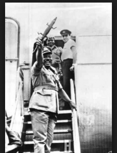 CLASSIC NEWS: The Tale Behind General Aguiyi-Ironsi's Crocodile Swagger Stick