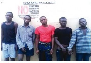 [PHOTO] 5 Robbers Strangle Driver To Death In Lagos Over This Amount