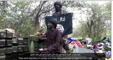 [VIDEO] Boko Haram Beheads Police Officer In This New Clip, Urges All To Join In The Fight