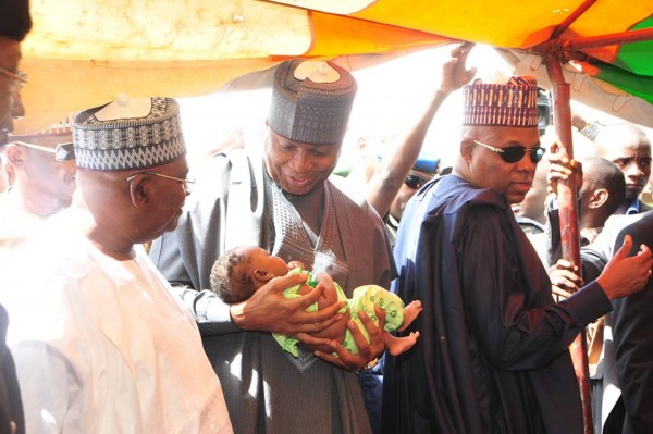 Saraki Donates N10Million To IDPs Camps In Maiduguri