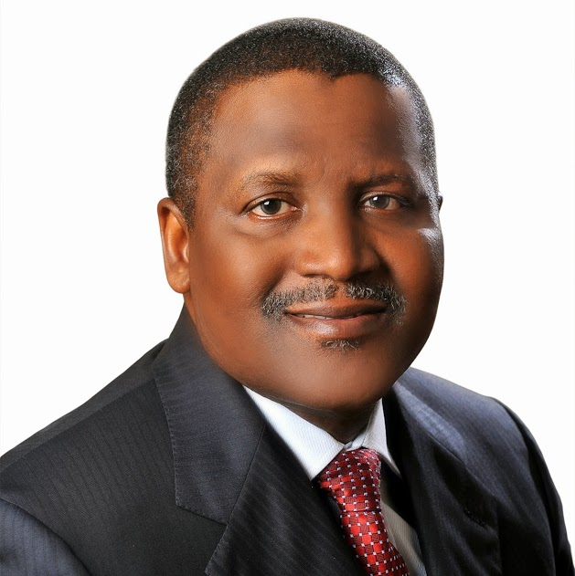 "Dangote Listed On Bloomberg's ""Top 50 Most Influential People In The World"""