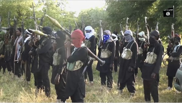 [PHOTOS] Boko Haram Releases New Video Without Shekau, Pledges Allegiance To ISIS