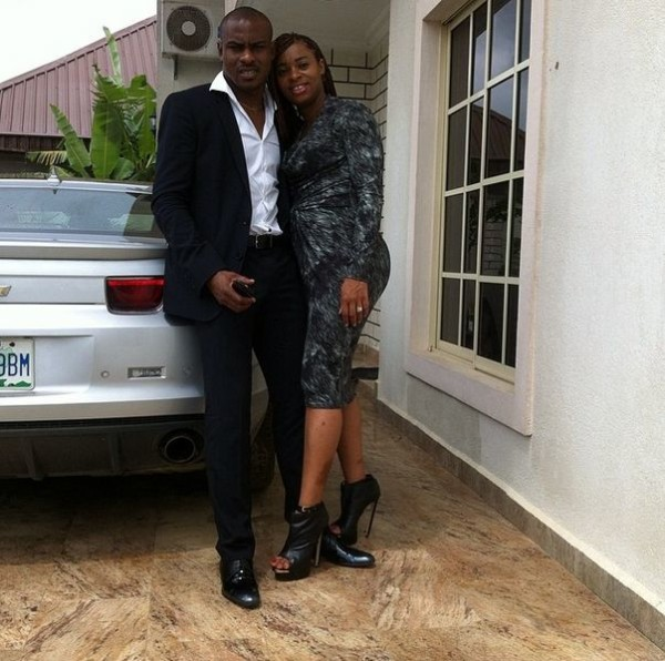 Vincent Enyeama's Wife Reacts To His Decision To Quit Super Eagles National Team