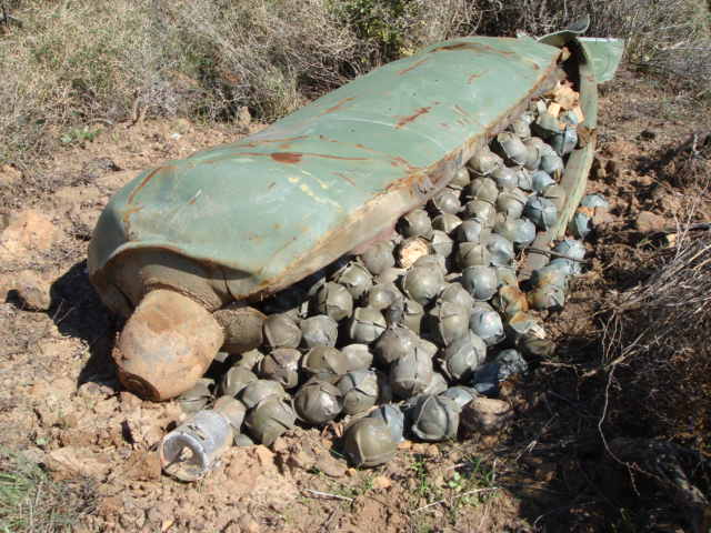 Defence Headquarters Alerts Nigerians On Cluster Bombs And How To Identify Them