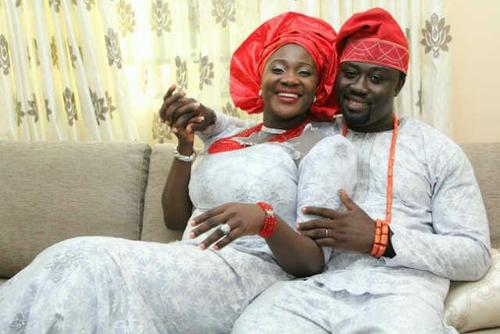[PHOTOS] Heavily Pregnant Mercy Johnson And Husband Step Out In Style